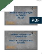 Modulo 2 - Avaliação de Risco de Crédito