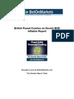 British Pound Crashes on Dovish BOE Inflation Report