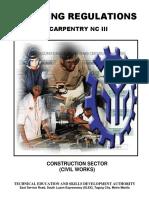 TR-Carpentry NC III