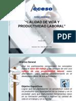 Curso Calidad de Vida y Productividad-2010