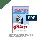 Occupation americaine d'Haiti