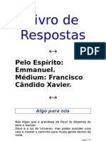 180 - (Chico Xavier) - Emmanuel - Livro de Respostas