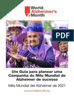 Um Guia para planear uma Campanha do Mês Mundial de Alzheimer de Sucesso 2021