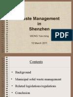 Waste Management in Shenzhen