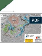 Douglas Mountain Bike Reserve Trail Map - Mar 2011
