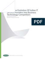 SWOT_The Evolution Of Indian IT Service Providers Into Business Technology Competitors
