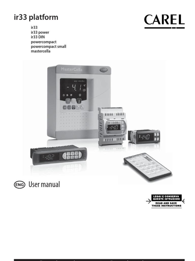 carel ir33 manual transformer parameter computer programming. Black Bedroom Furniture Sets. Home Design Ideas