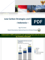 Agus Purnomo. Indonesia. Low Carbon Strategies and Challenges
