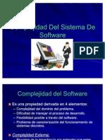 Complejidad Del Sistema De Software