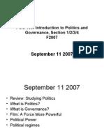 POG 100 - F2007 - September 11 2007 -Blackboard