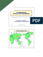An assessment of korean port governance