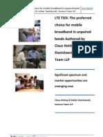 LTE TDD Ventura White Paper