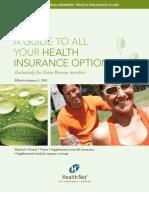 Health Net Farm Bureau Health Insurance Options CA 2011