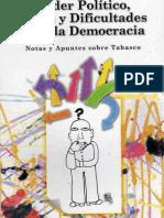 Poder Político Élites y Dificultades Para la Democracia
