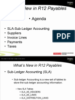 What's New in R12 Payables