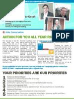 Court Ward - Election Address