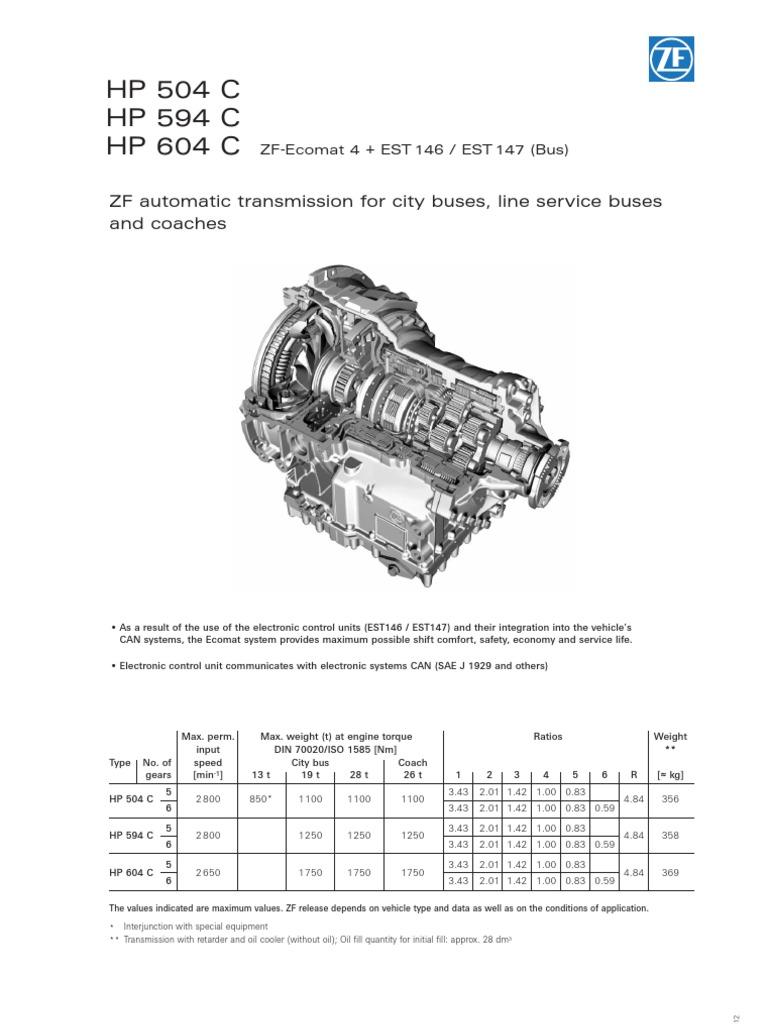 zf rh fr scribd com 502 to ZF Transmission ZF Transmission Parts