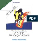 O Que é Educaçãoo Física - Vitor Marinho de Oliveira - Cópia