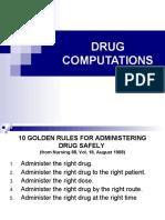 skills drug computation