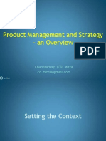 Product Management & Strategy -Overview 10.1