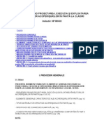 NP. 069-02 NORMATIV PRIVIND PROIECTAREA EXECUTIA SI EXPLOATA