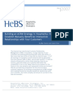 Building an eCRM Strategy in Hospitality