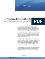 Give Spreadsheets the Boot
