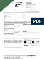 Reprint order MuW2010