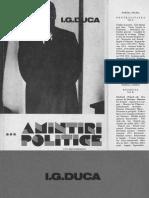 Amintiri Politice Vol III