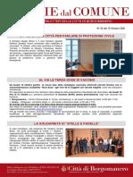 Notizie Dal Comune di Borgomanero del 15-10-2021