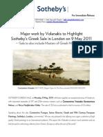 9 May 2011 Greek Sale Press Release Final