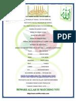 Muslim Final