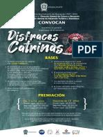 Convocatoria Disfraces de Catrinas Guanajuato Capital 2021