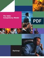 Sales Competecies Model Hay Group