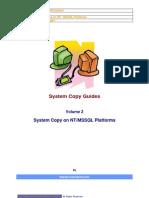 Attach Detach Procedure system copy