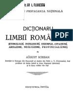 Dicţionaru limbii româneşti