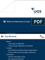 NX MULTI AXIS MACHINING Concept