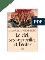 Emmanuel Swedenborg - Le Ciel Ses Merveilles Et l'Enfer