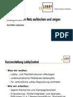 Ulrich Müller - Lobbyismus im Netz aufdecken und zeigen