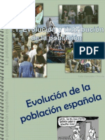 1.1. Evolución y distribución de la población