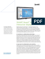 Factsheet SMART interactivedisplay 8070i- ENG