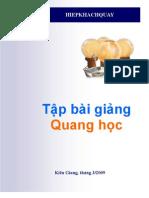 Chuyên đề Quang học (hiepkhachquay)
