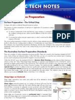 Dulux 1.1.2 Mild Steel - Surface Preparation