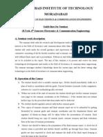 MORADABAD INSTITUTE OF TECHNOLOGY MORADABAD