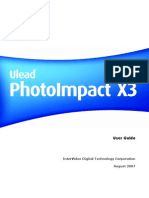 PhotoImpact X3 User Guide