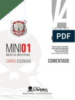1º Mini - Penal - Escrivão (Pós-edital) - PCDF V4 - Projeto Caveira