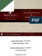 Broyhill Portfolio Strategy (Apr-11)