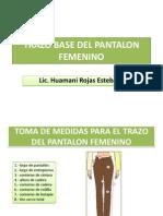 TRAZO BASE DEL PANTALON FEMENINO PDF