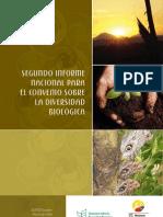 Segundo Informe Nacional para el Convenio sobre la Diversidad Biológica