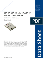 LEA-4x_Data_Sheet(GPS.G4-MS4-06143)